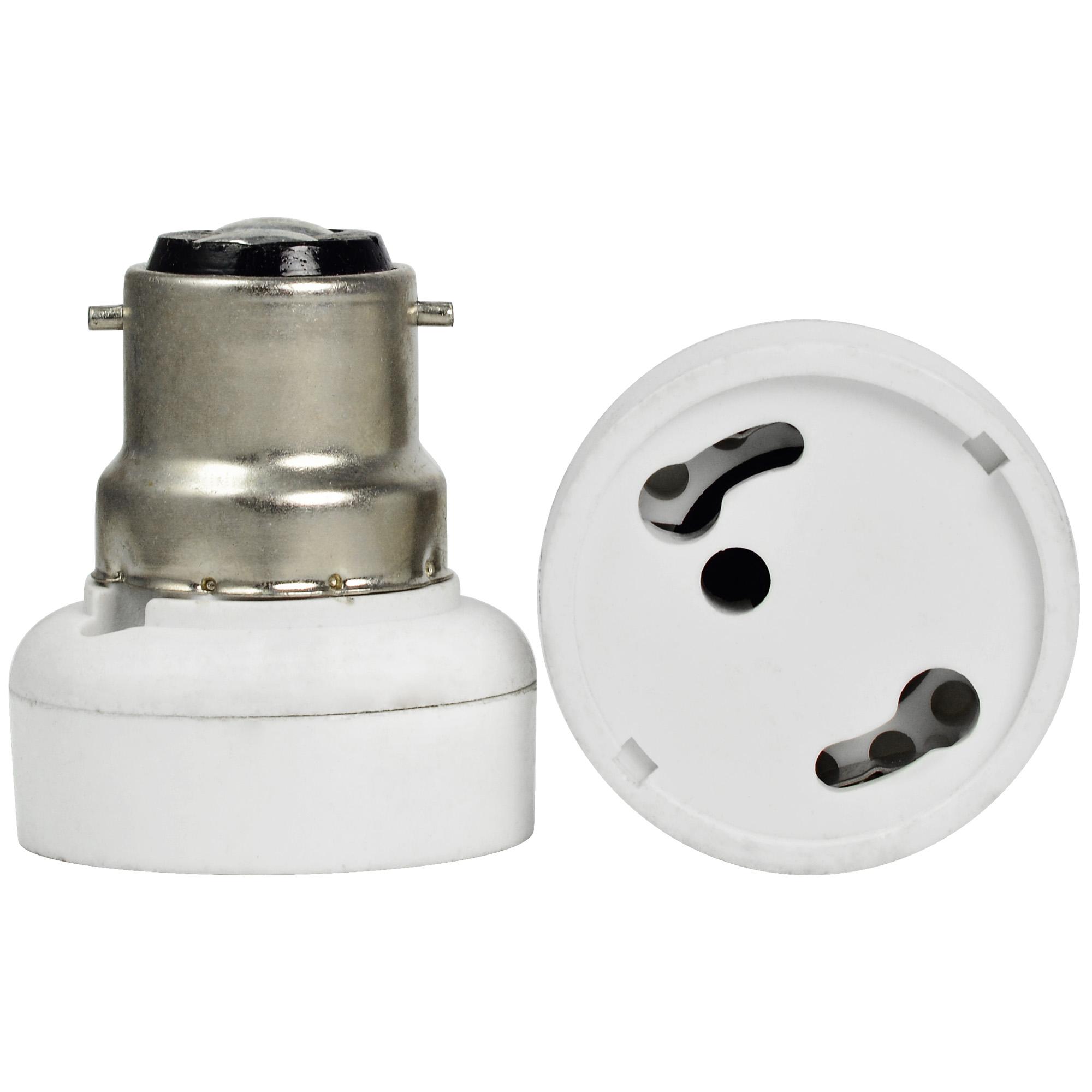 mengsled u2013 mengs high quality lamp base adapter b22 to gu24 led light bulb socket converter - Gu24 Led