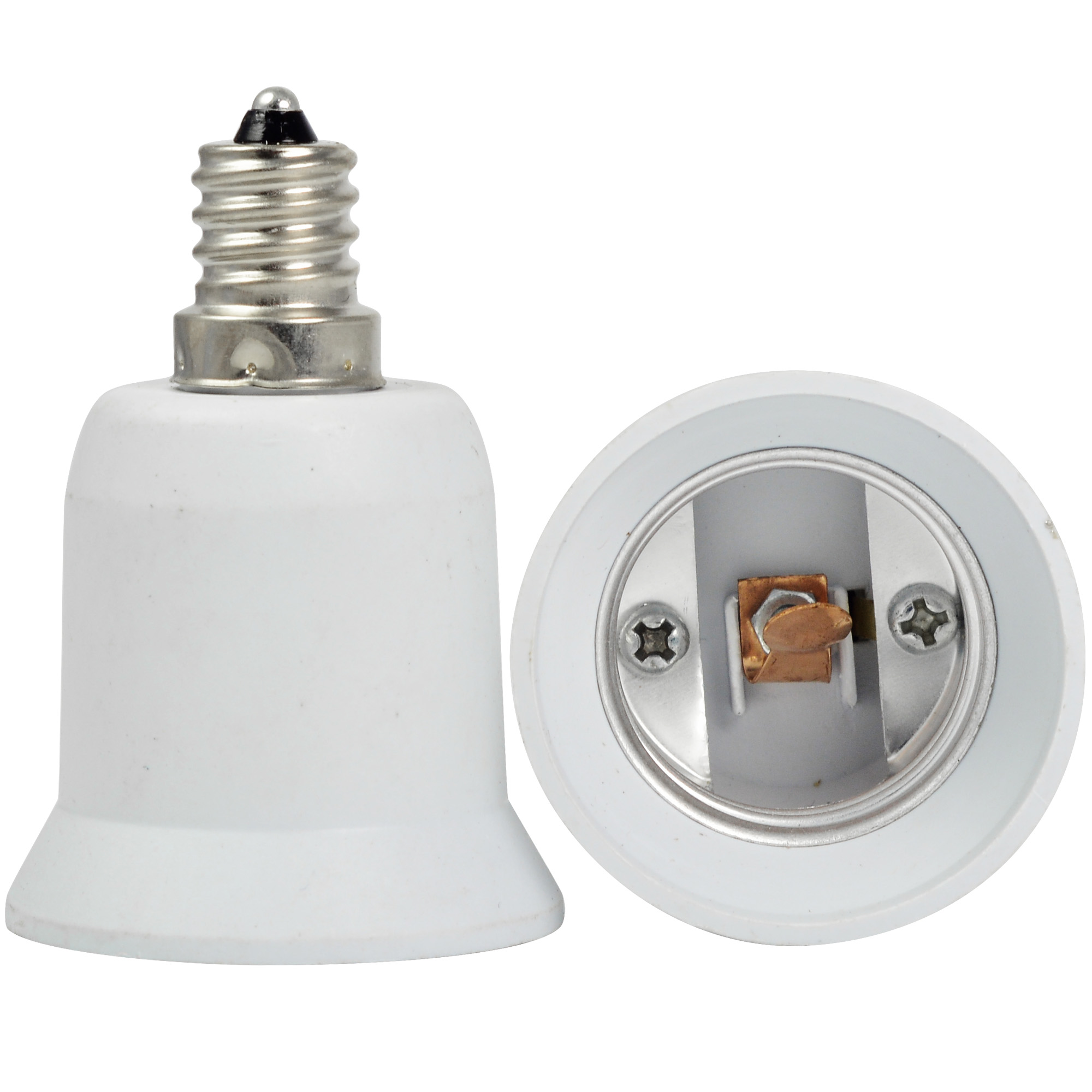 Mengsled mengs high quality lamp base adapter e12 to e27 led light bulb socket converter Light bulb socket