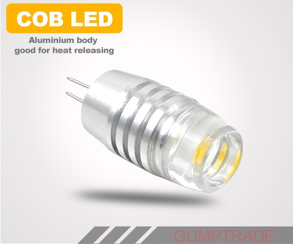 MengsLED – MENGS® G4 3W LED Light COB LEDs LED Lamp Bulb AC/DC 10 – 30V in Warm / Cool White ...