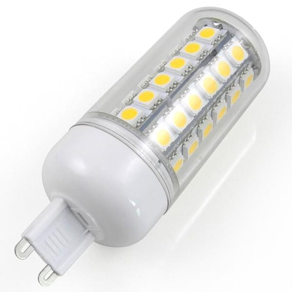 mengsled mengs g9 7w led corn light 48x 5050 smd leds. Black Bedroom Furniture Sets. Home Design Ideas