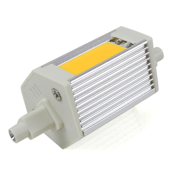 Recambio de lampara halogena bombilla led r7s 78mm 10 w for Alogena r7s led