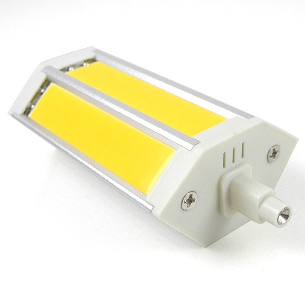 Mengsled mengs r7s j118 10w led dimmable flood light 3 - Ampoule led r7s 118mm dimmable ...