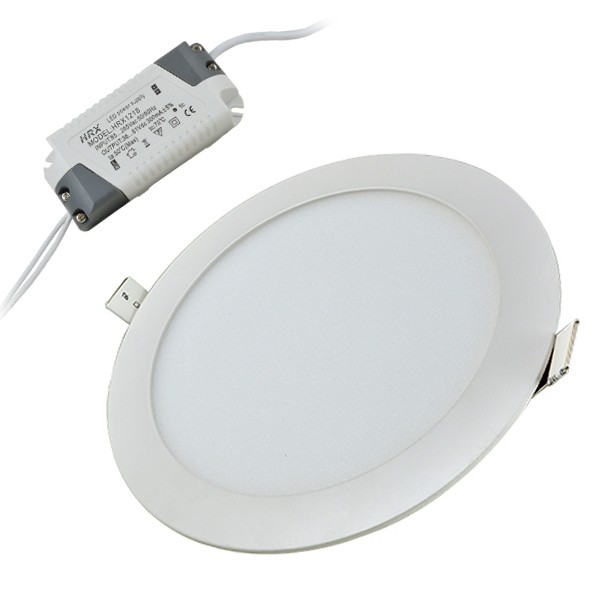 MENGS® 15W Round LED Recessed Ceiling Panel
