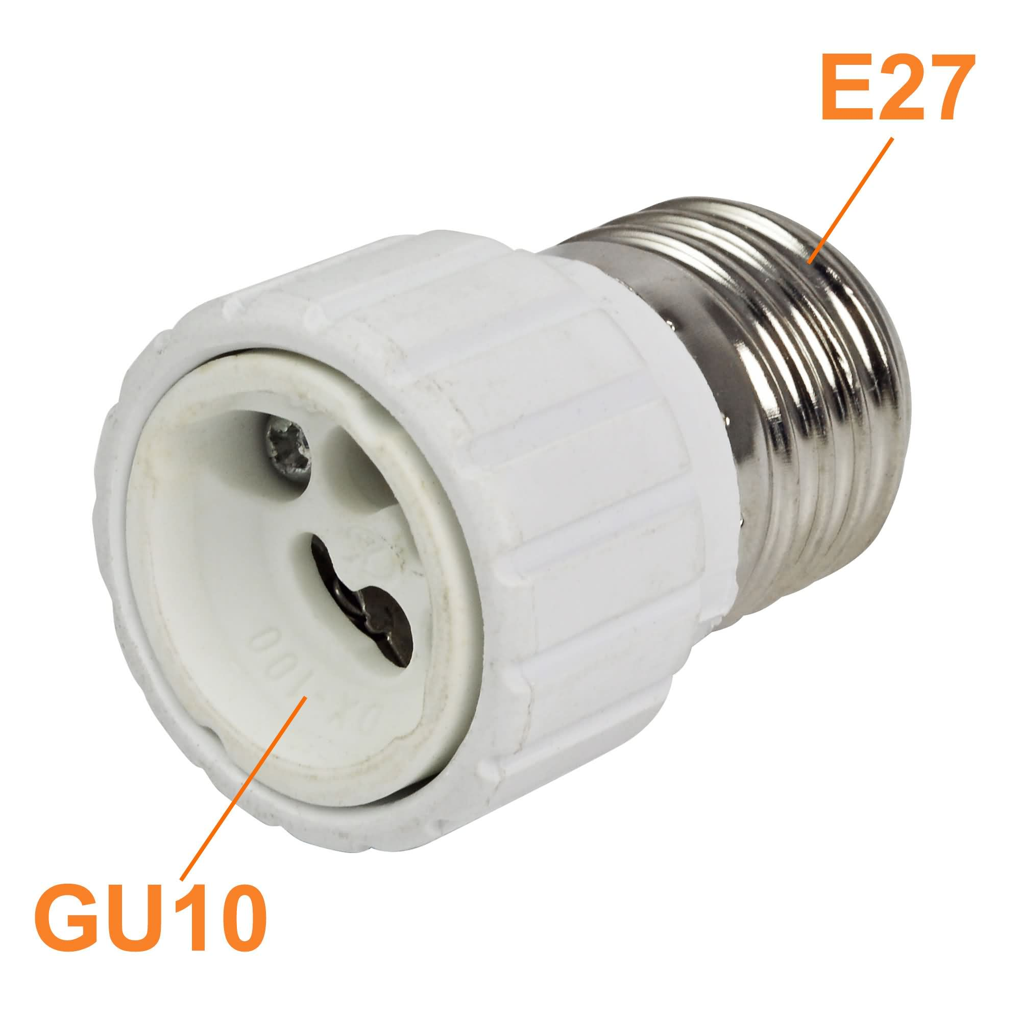 mengs high quality e27 to gu10 lamp socket converter adapter abs ceramic meterial