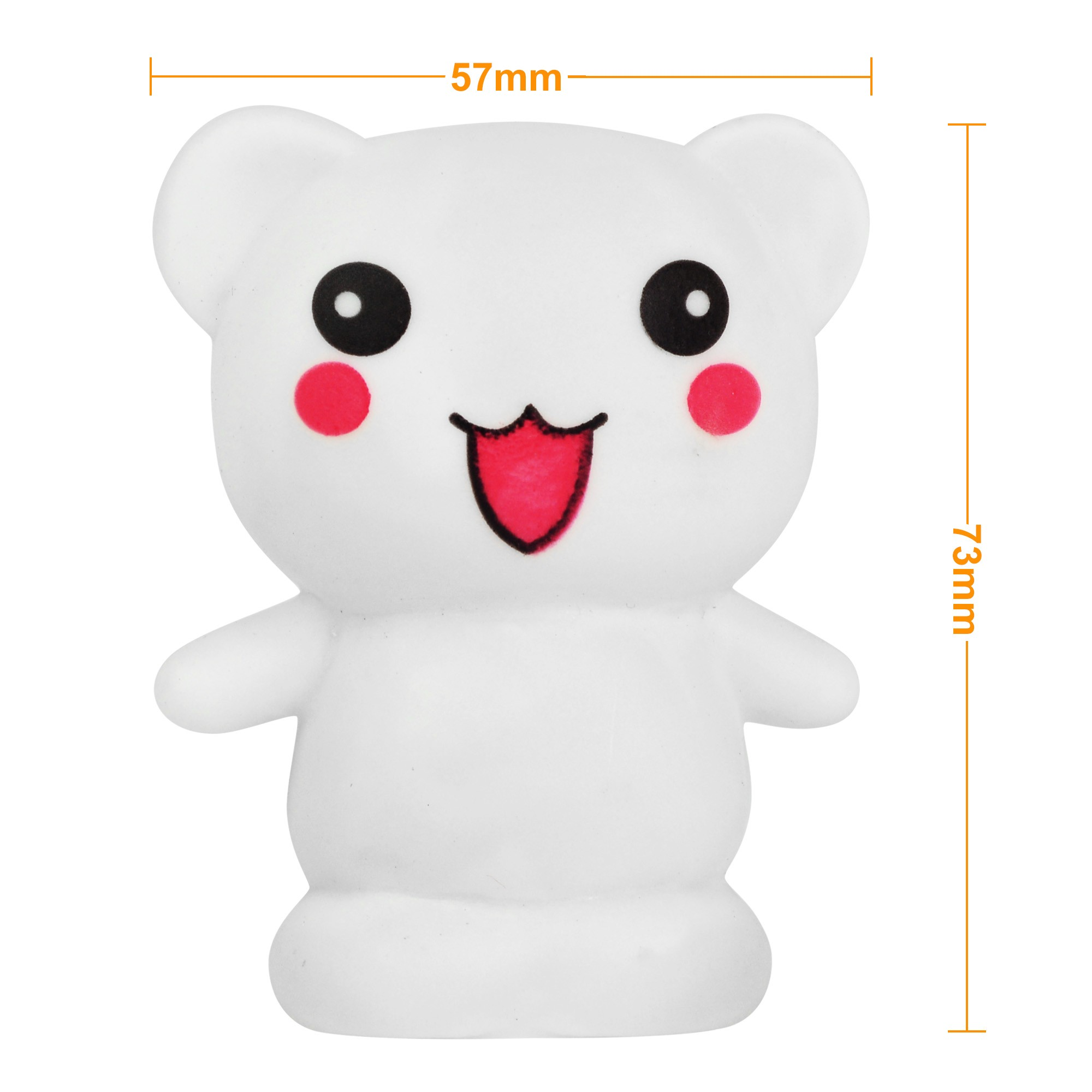 Mengsled Mengs 174 Cute Bear 7 Color Changing Night Light