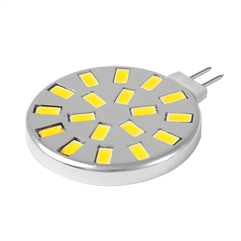mengsled mengs g4 5w led light 18x 5730 smd leds led lamp bulb ac dc 10 30v in warm white. Black Bedroom Furniture Sets. Home Design Ideas
