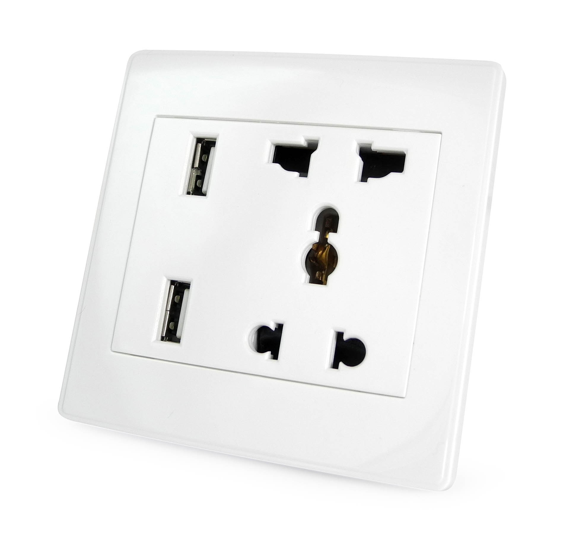 Designer wall sockets