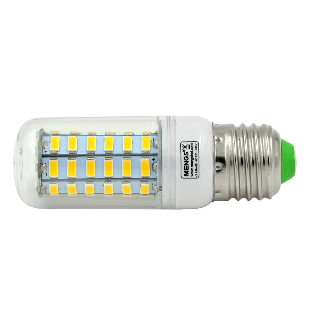 mengsled mengs e27 7w led corn light 56x 5730 smd leds led bulb lamp ac 220 240v in warm cool. Black Bedroom Furniture Sets. Home Design Ideas