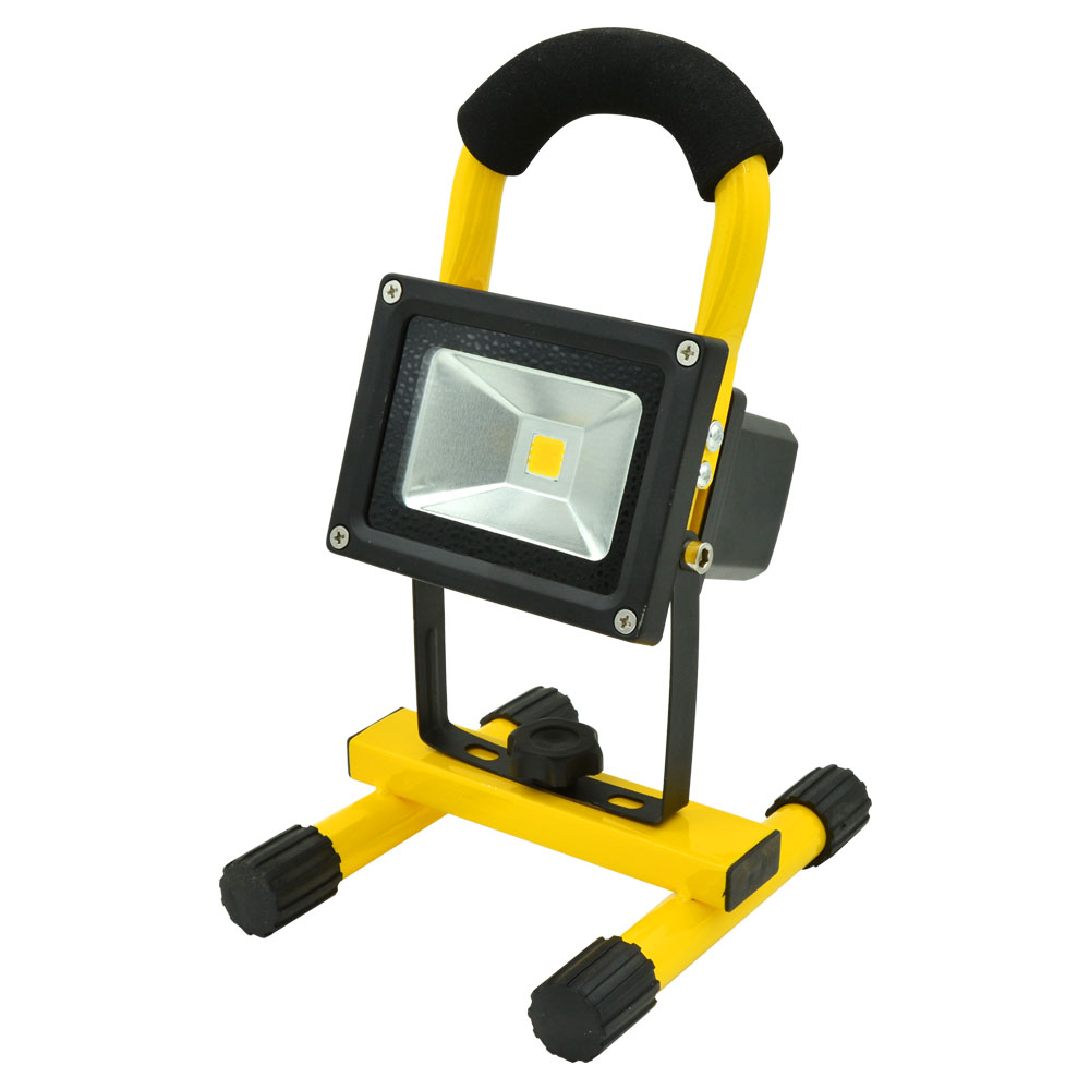 Mengsled Mengs 10w Rechargeable Led Flood Light 600lm