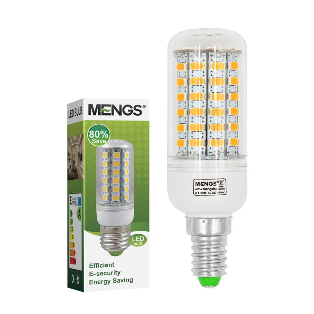 mengsled mengs e14 9w led corn light 69x 5730 smd leds led bulb lamp in warm cool white. Black Bedroom Furniture Sets. Home Design Ideas