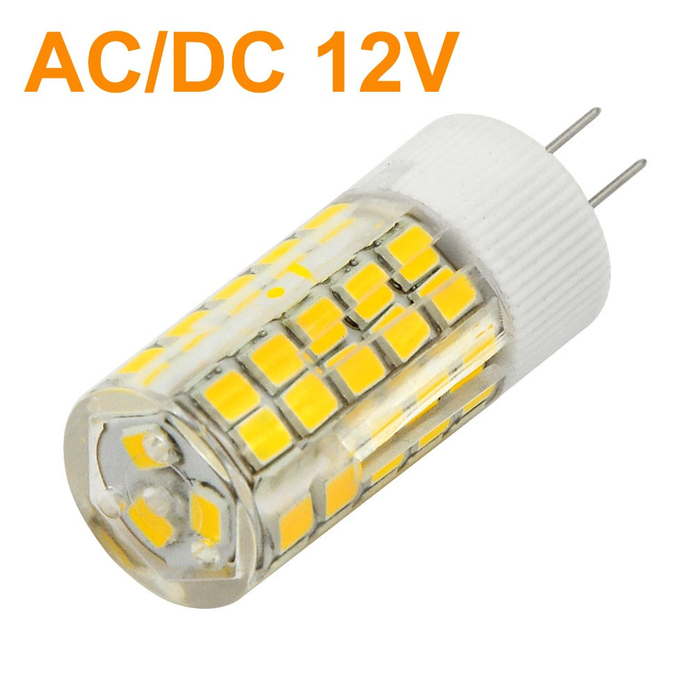 Mengsled Mengs G4 6w Led Light 63x 2835 Smd Leds Led Bulb Lamp Ac Dc 12v In Warm Cool White