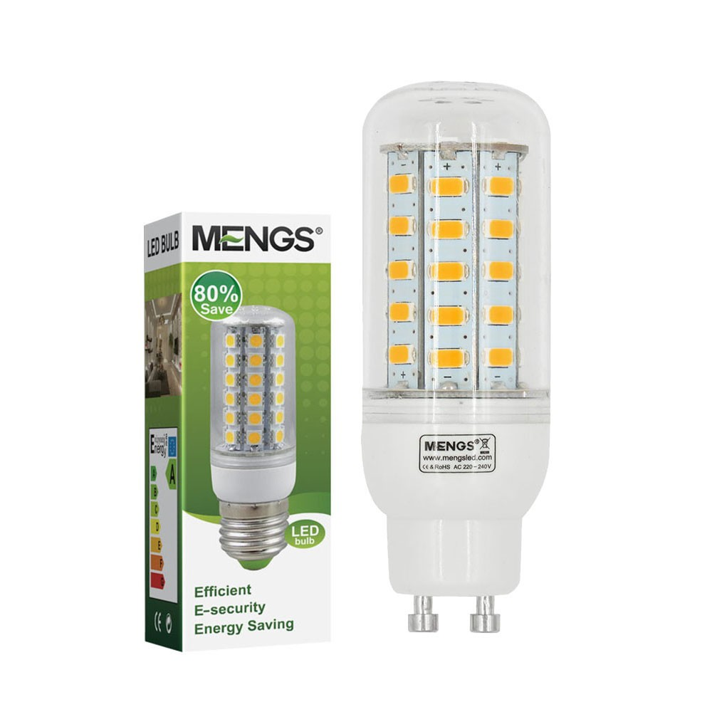 Mengsled Mengs Gu10 5w Led Corn Light 48x 5730 Smd Leds Led Bulb Lamp In Warm Cool White