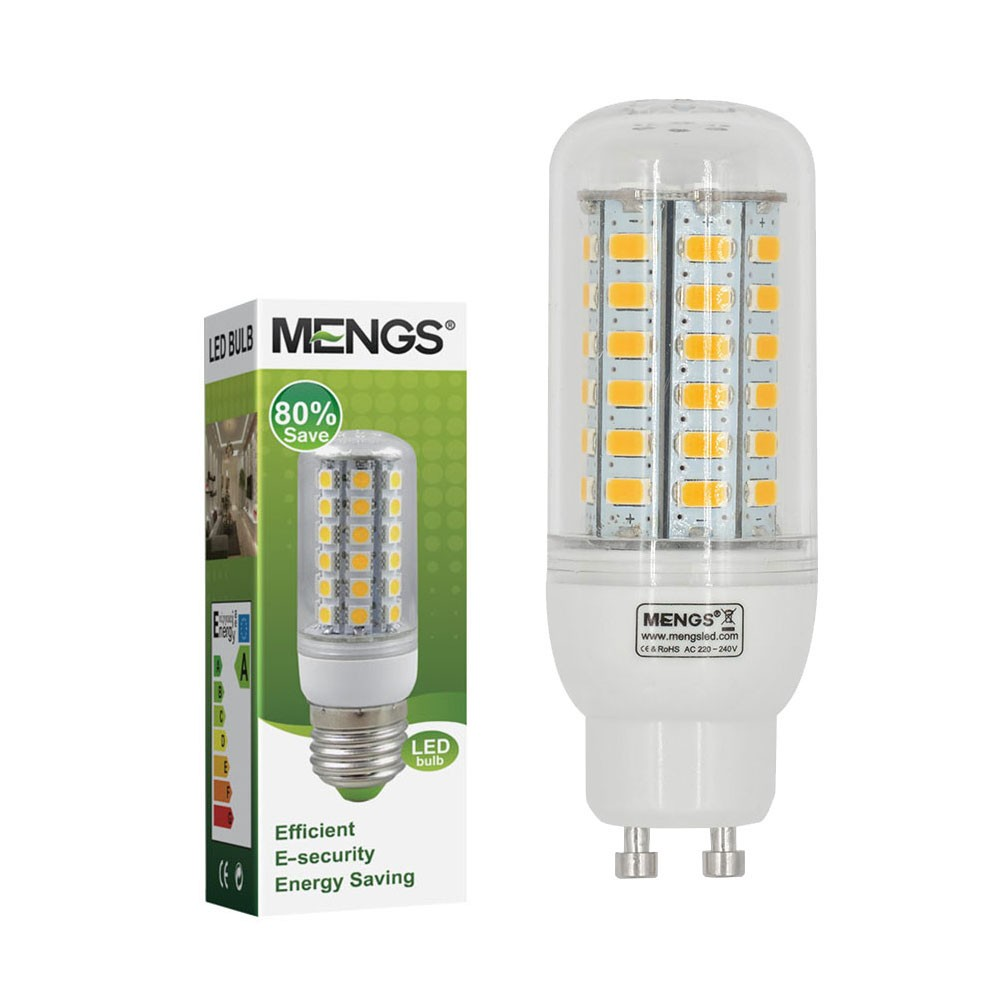 Mengsled Mengs Gu10 7w Led Corn Light 56x 5730 Smd Leds Led Bulb Lamp In Warm Cool White