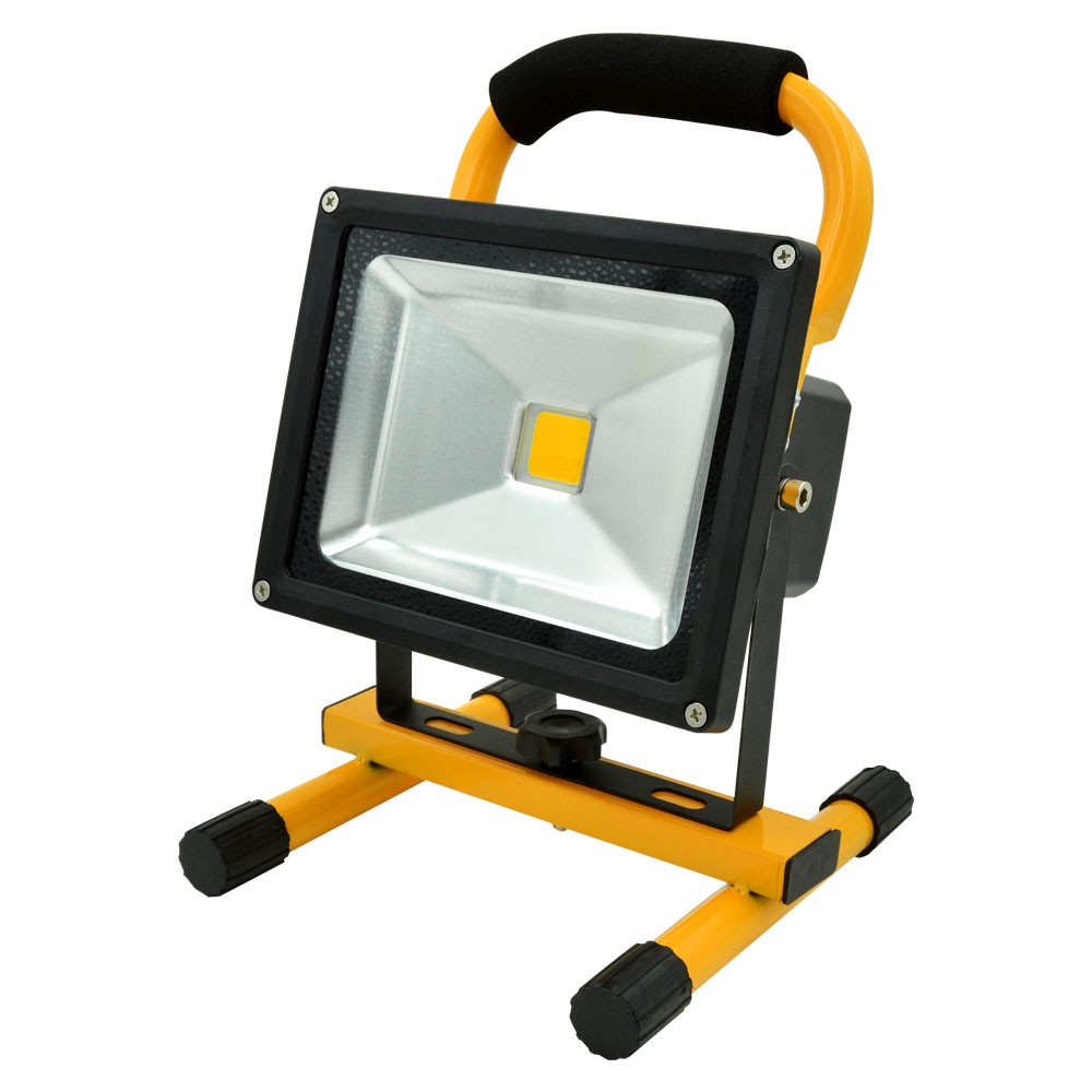 Led Flood Light Rechargeable 20w: MENGS® 20W Rechargeable LED Flood Light (700lm