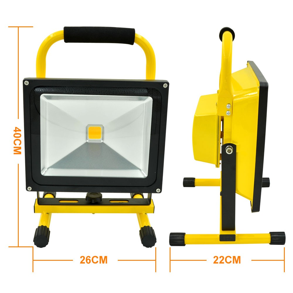 MengsLED – MENGS® 50W Rechargeable LED Flood Light (900lm ...