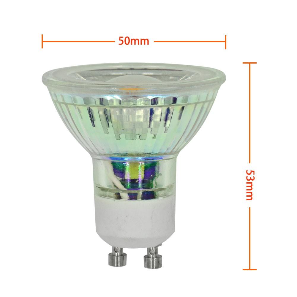 Mengsled Mengs Gu10 5w Led Spotlight Cob Led Lamp In Warm Cool White Energy Saving Light