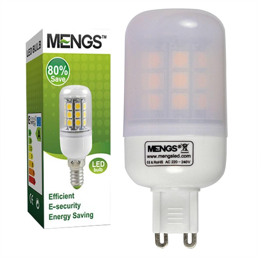 mengsled mengs g9 5w led corn light 30x 5050 smd led lamp bulb in warm white cool white. Black Bedroom Furniture Sets. Home Design Ideas