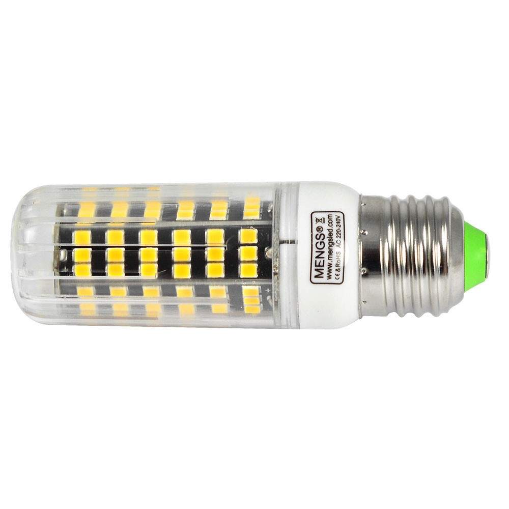 Mengsled Mengs E27 12w Led Corn Light 123x 2835 Smd Led Bulb Lamp In Warm White Cool White
