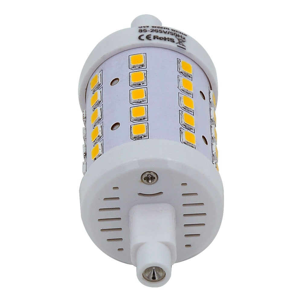 Mengsled Mengs R7s 5w Led Flood Light 40x 2835 Smd Led Lamp Bulb In Warm White Cool White