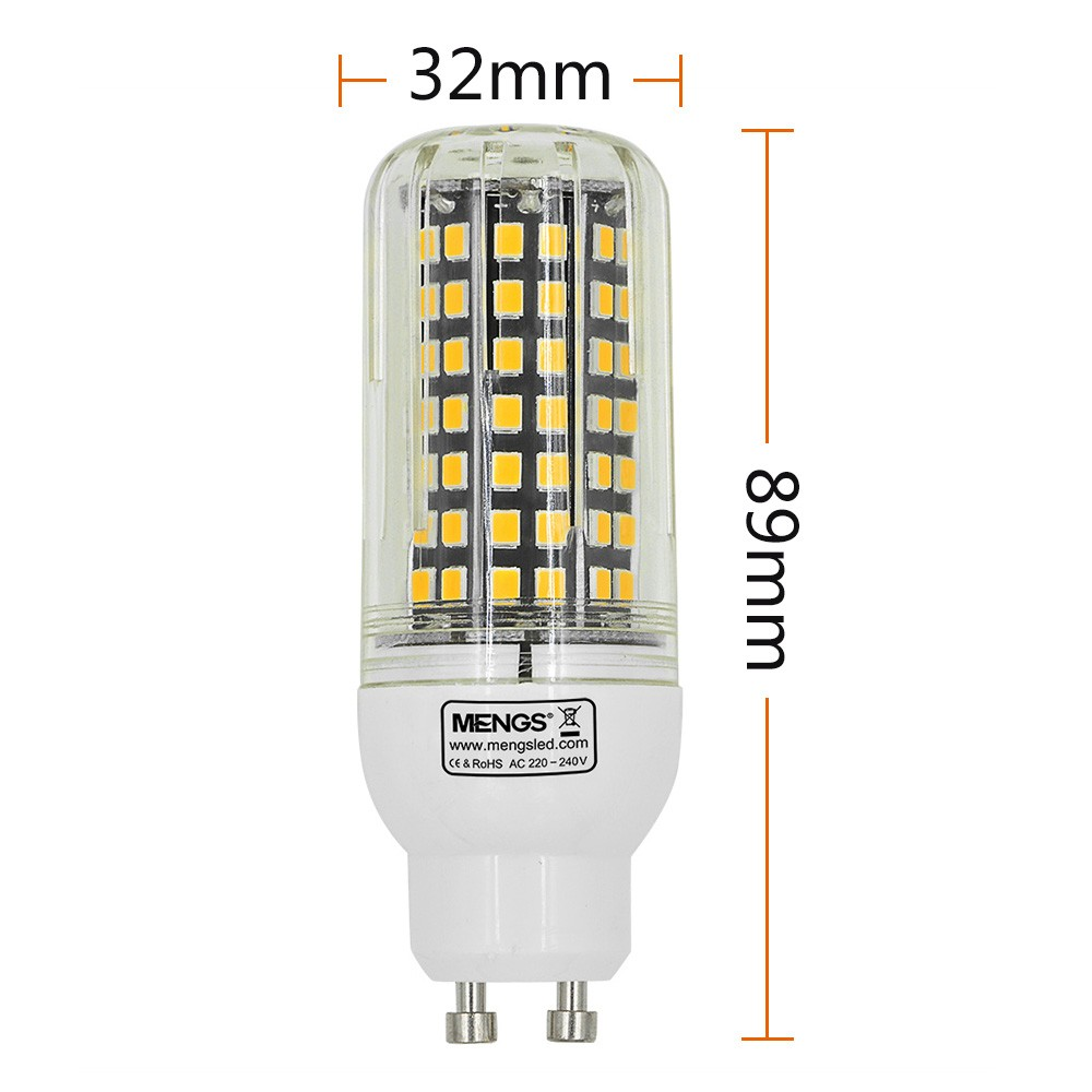 mengsled mengs gu10 10w led corn light 112x 2835 smd led bulb lamp with aluminum plate in. Black Bedroom Furniture Sets. Home Design Ideas