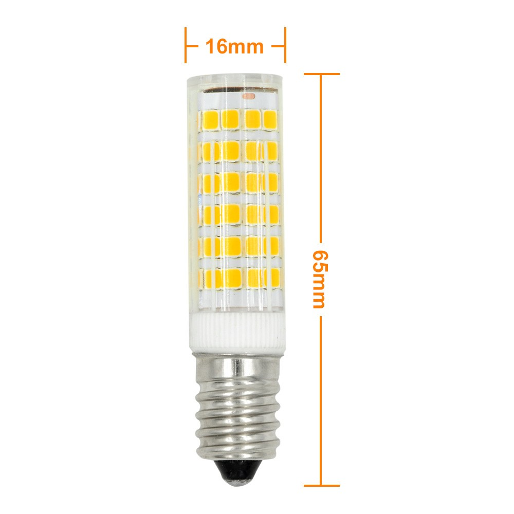 Mengsled Mengs E14 7w Led Corn Light 75x 2835 Smd Led Lamp Bulb In Warm White Cool White
