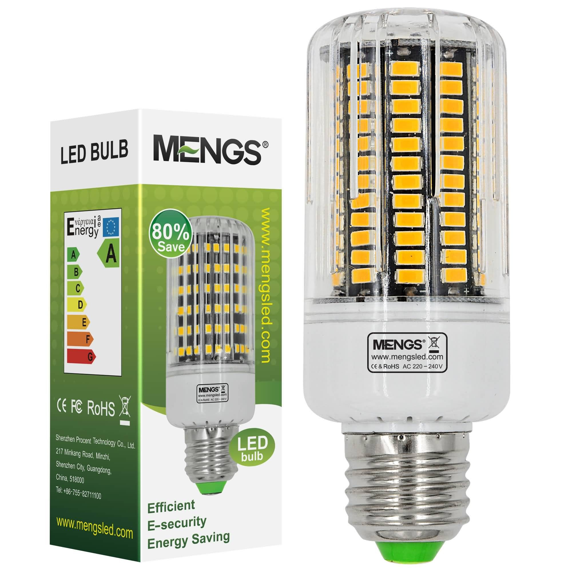 Cool white vs warm white led lights - Mengsled Mengs E27 18w Led Corn Light 136x 5733 Smd Led Bulb Lamp In Warm White Cool White Energy Saving Light