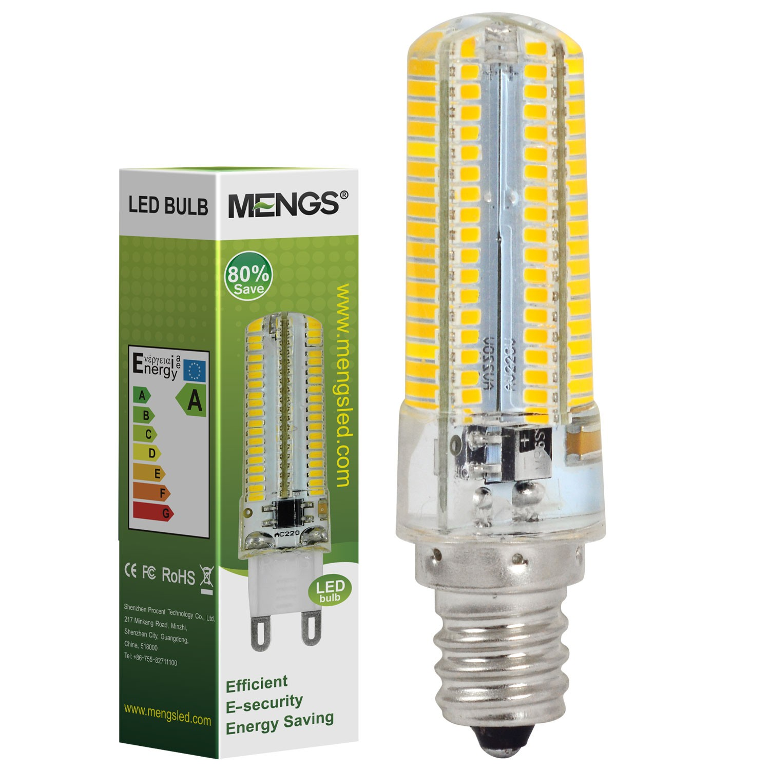 Mengsled Mengs E12 7w Led Light 152x 3014 Smd Led Bulb Lamp In Warm White Cool White Energy