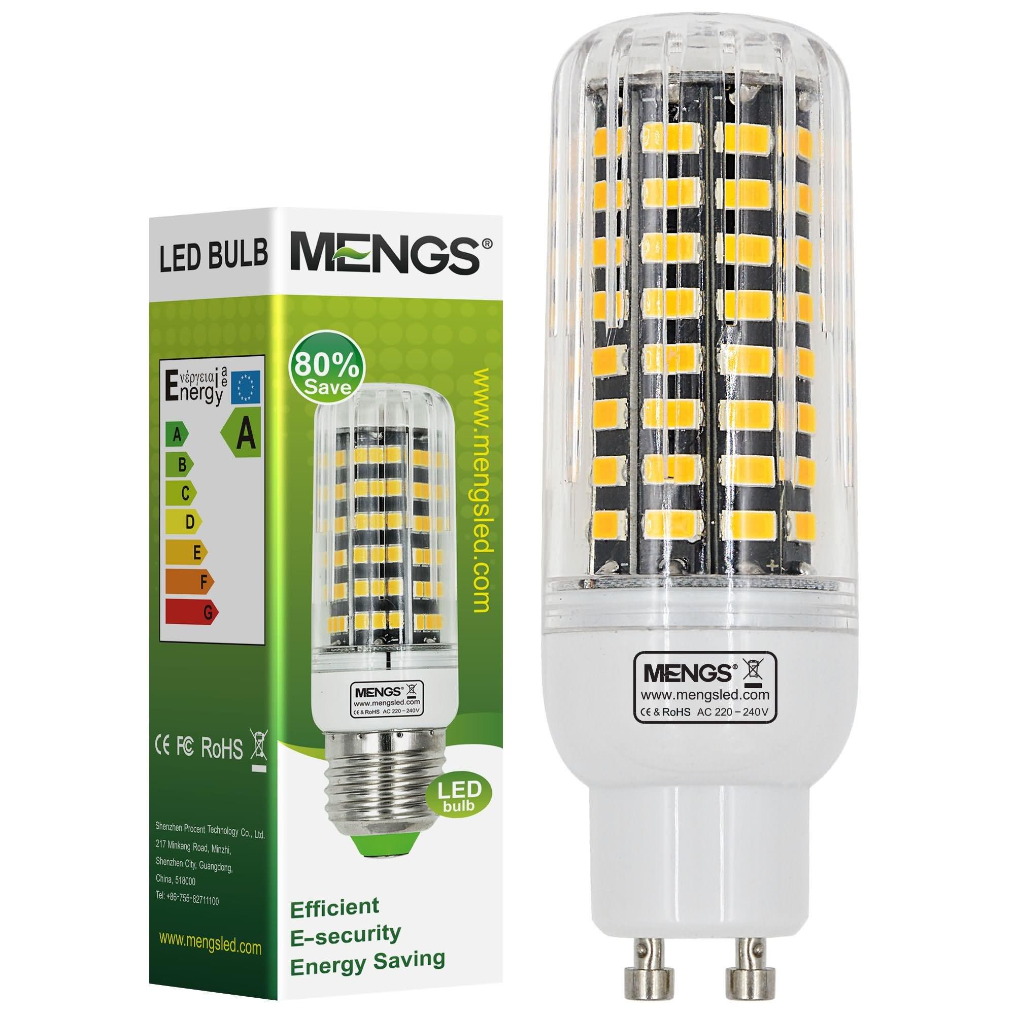 Mengsled Mengs Gu10 11w Led Corn Light 80x 5733 Smd Led Bulb Lamp In Warm White Cool White