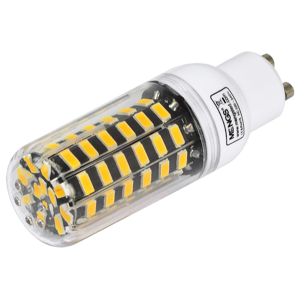 Mengsled Mengs Gu10 9w Led Corn Light 64x 5733 Smd Led Bulb Lamp In Warm White Cool White