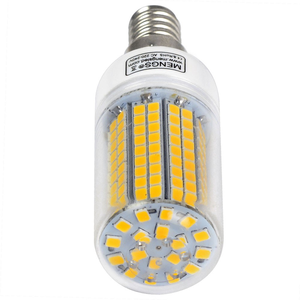 Mengsled Mengs E14 10w Led Corn Light 180x 2835 Smd Led Bulb Lamp In Warm White Cool White