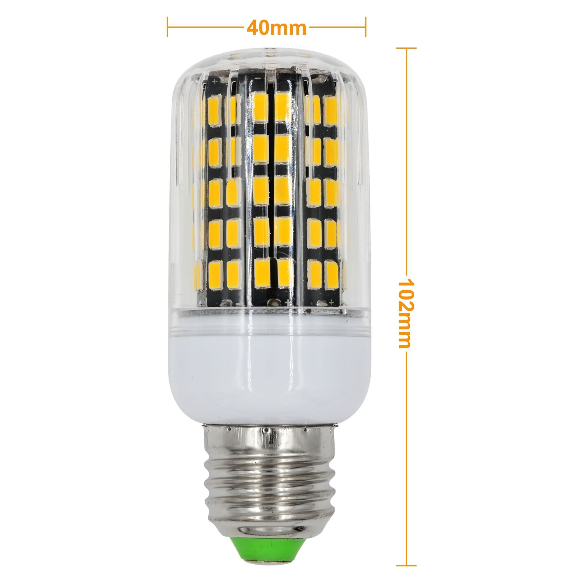 mengsled mengs e27 15w led corn light 108x 5733 smd led bulb lamp in warm white cool white. Black Bedroom Furniture Sets. Home Design Ideas