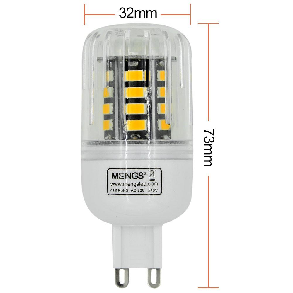 mengsled mengs g9 5w led corn light 30x 5733 smd led. Black Bedroom Furniture Sets. Home Design Ideas