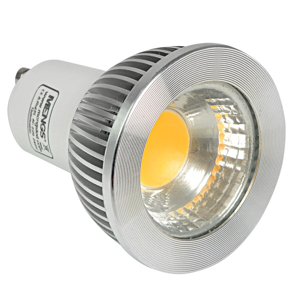Mengsled Mengs Gu10 5w Led Dimmbar Spotlight Cob Led Lamp In Warm White Cool White Energy