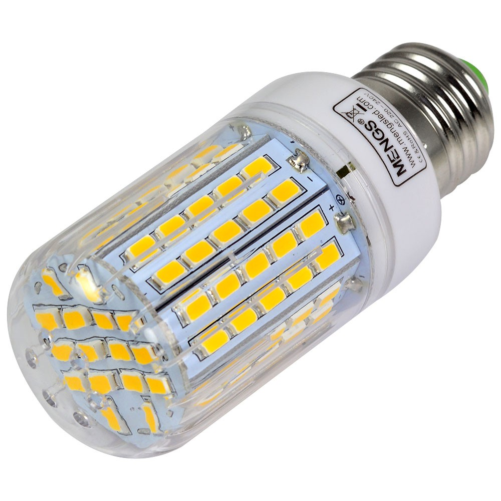 Mengsled Mengs E27 15w Led Dimmable Corn Light 96x 5730 Smd Led Bulb Lamp In Warm White Cool