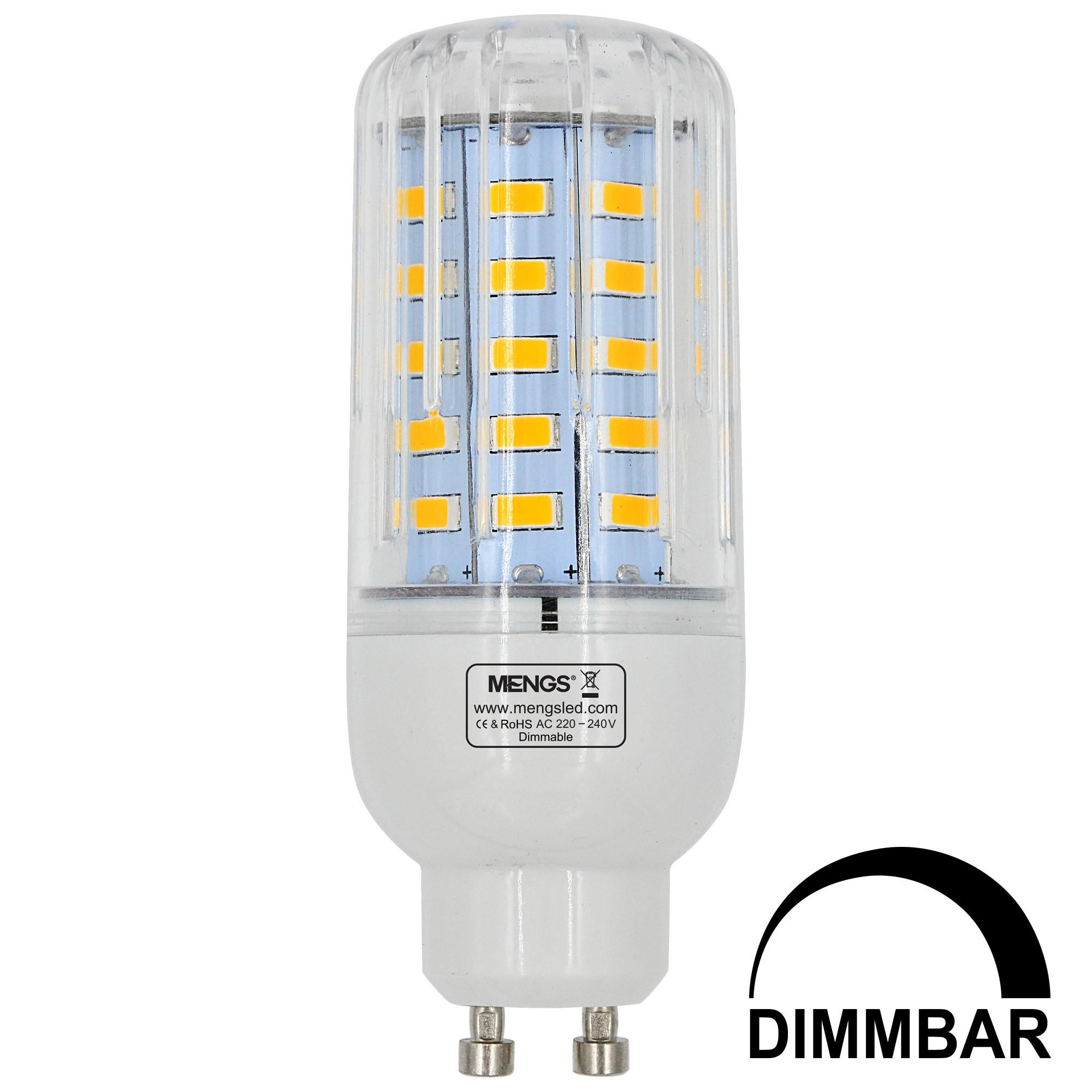 mengsled mengs gu10 7w led dimmable corn light 50x 5736 smd led bulb lamp ac 220 240v in warm. Black Bedroom Furniture Sets. Home Design Ideas