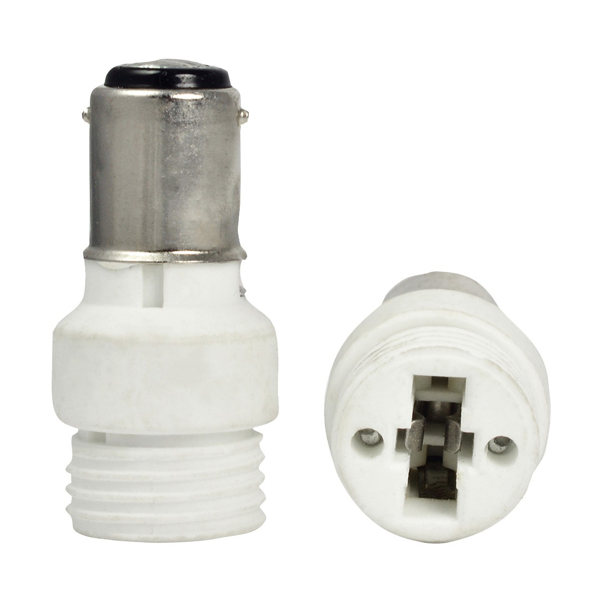 Mengsled mengs high quality lamp base adapter ba15d to g9 led light bulb socket converter Light bulb socket