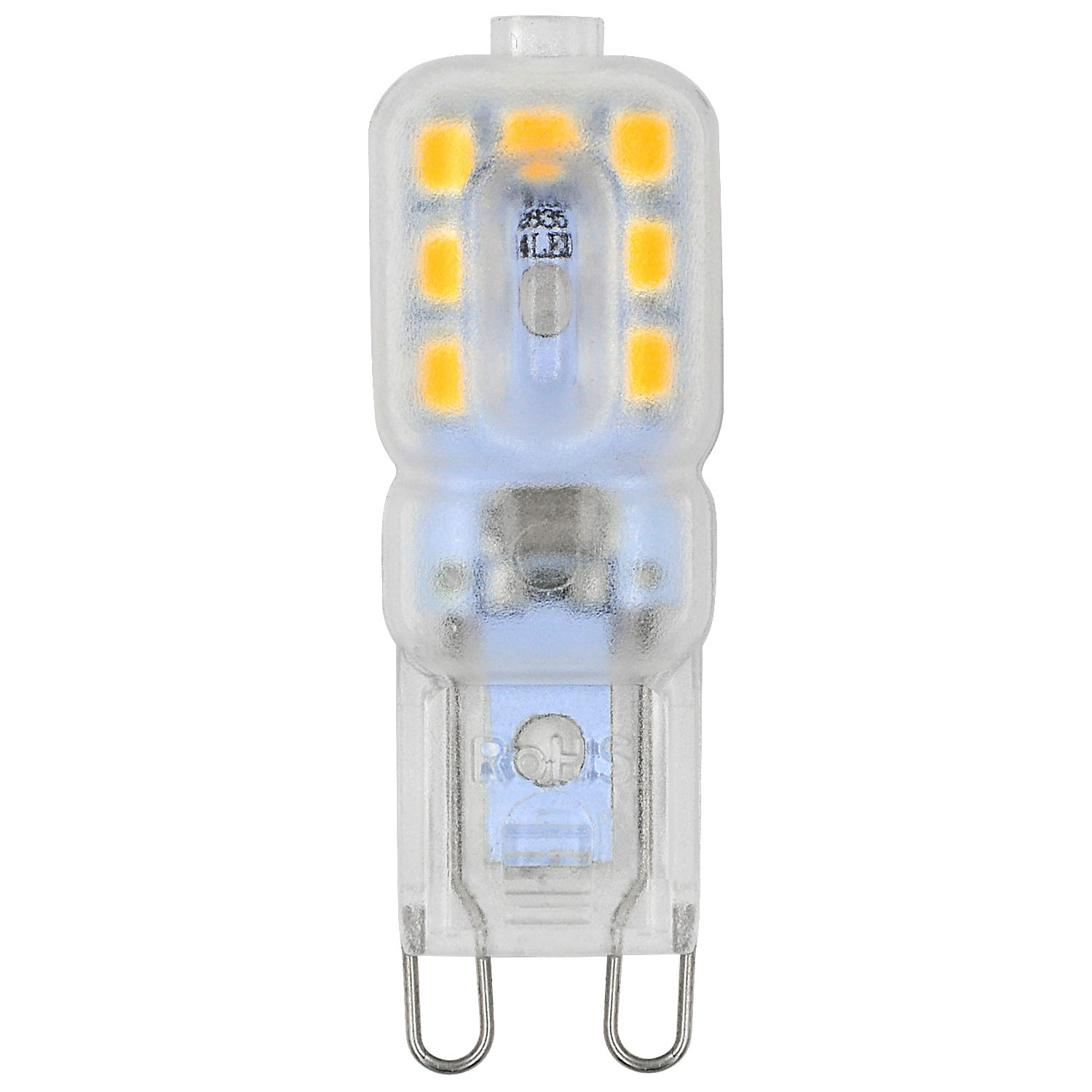 Mengsled Mengs G9 3w Led Light 14x 2835 Smd Led Bulb Lamp With Pc Material In Warm White Cool