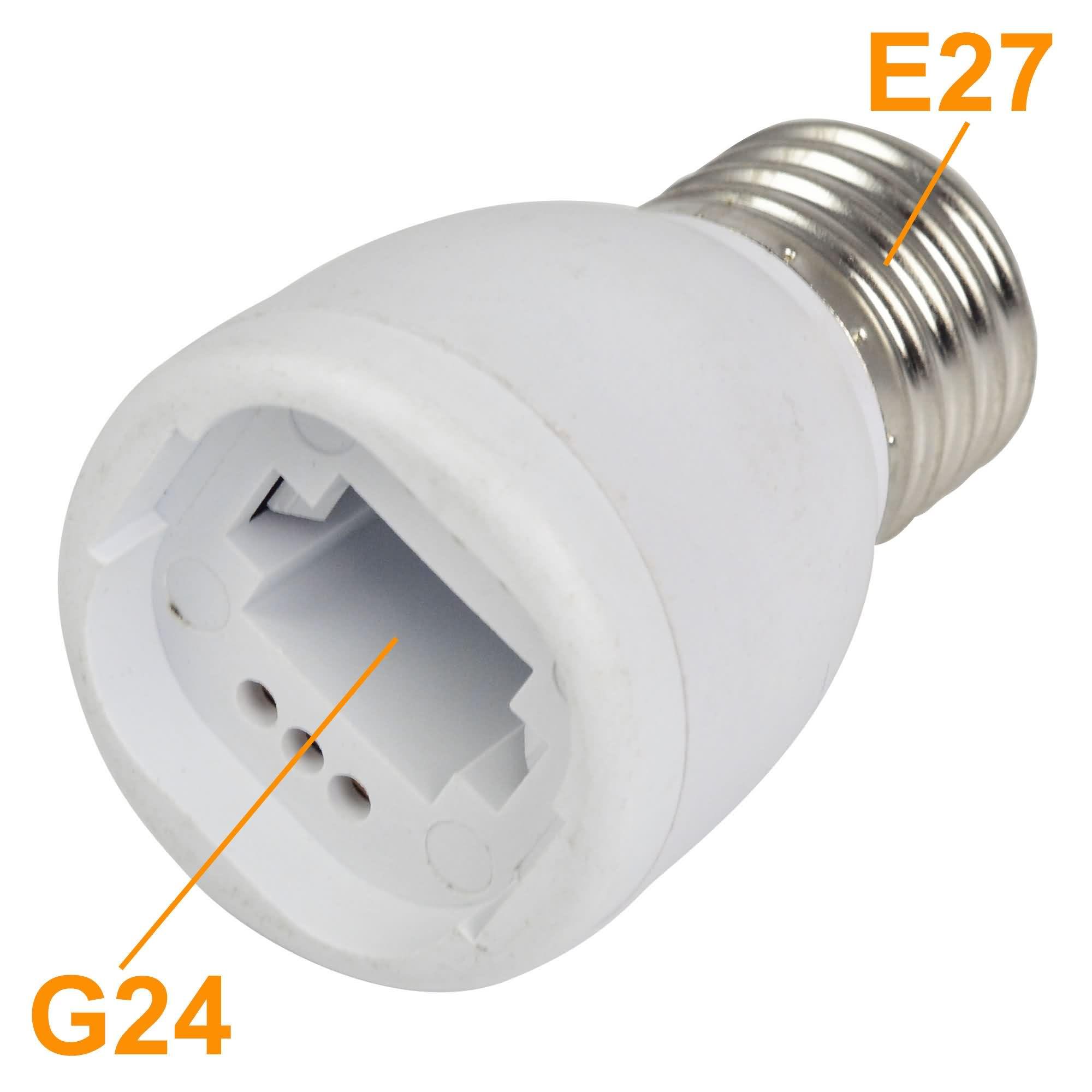MengsLED – MENGS® E27 To G24 LED Light Bulb Lamp Socket ...