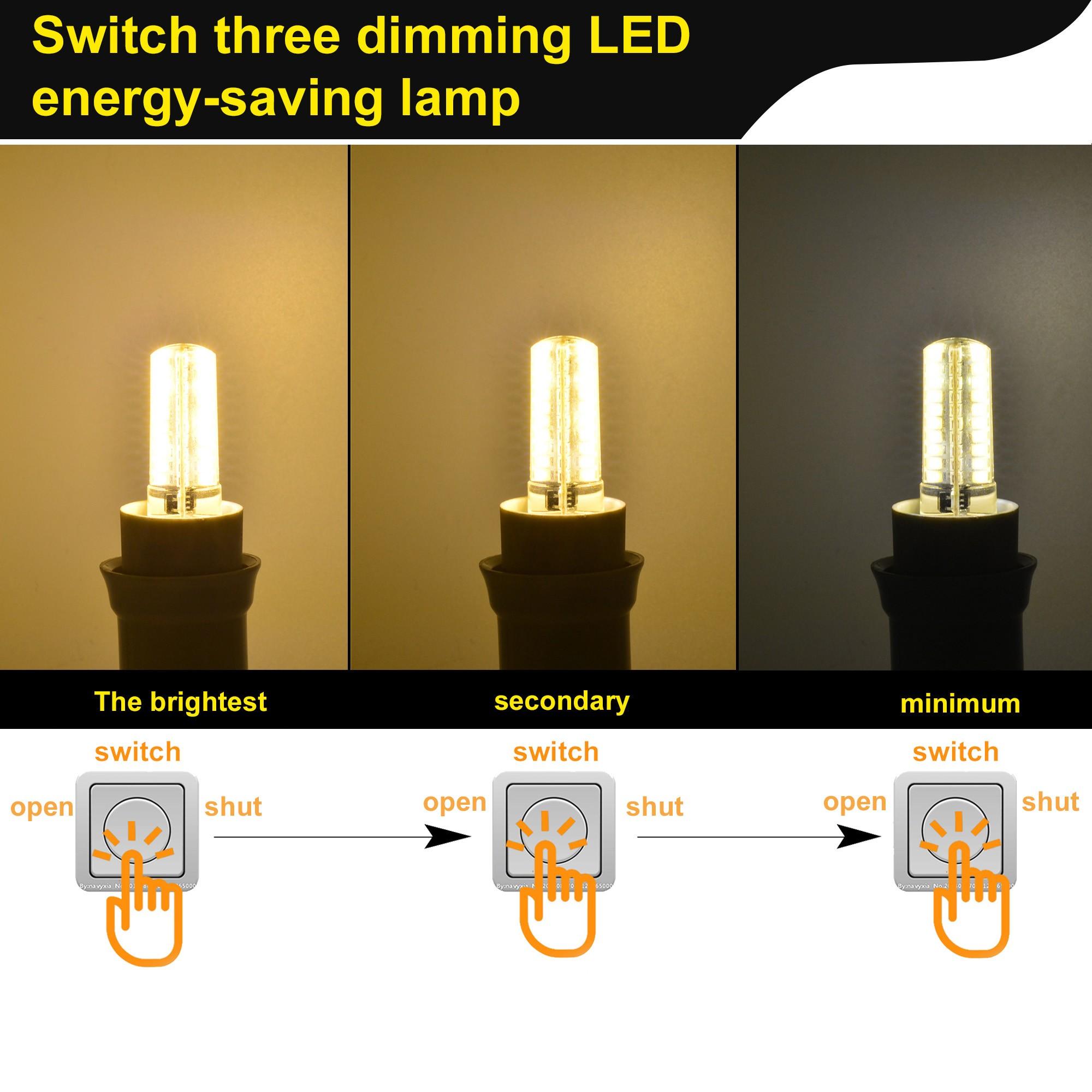 MengsLED – MENGS® G9 7W LED Light 80x 2835 SMD 3-Level ...