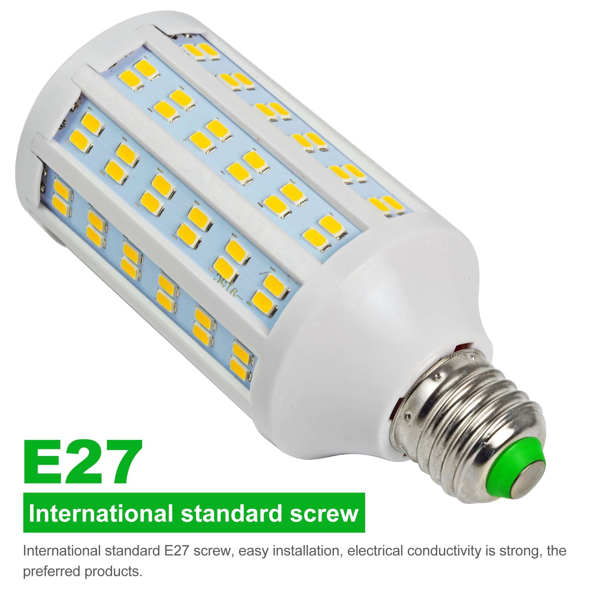 20w Smd Led 12v: MENGS® E27 20W LED Dimmable Corn Light 144x