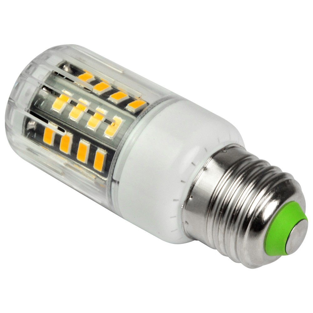 mengsled mengs anti strobe e27 5w led corn light 40x 5736 smd led bulb lamp in warm white. Black Bedroom Furniture Sets. Home Design Ideas