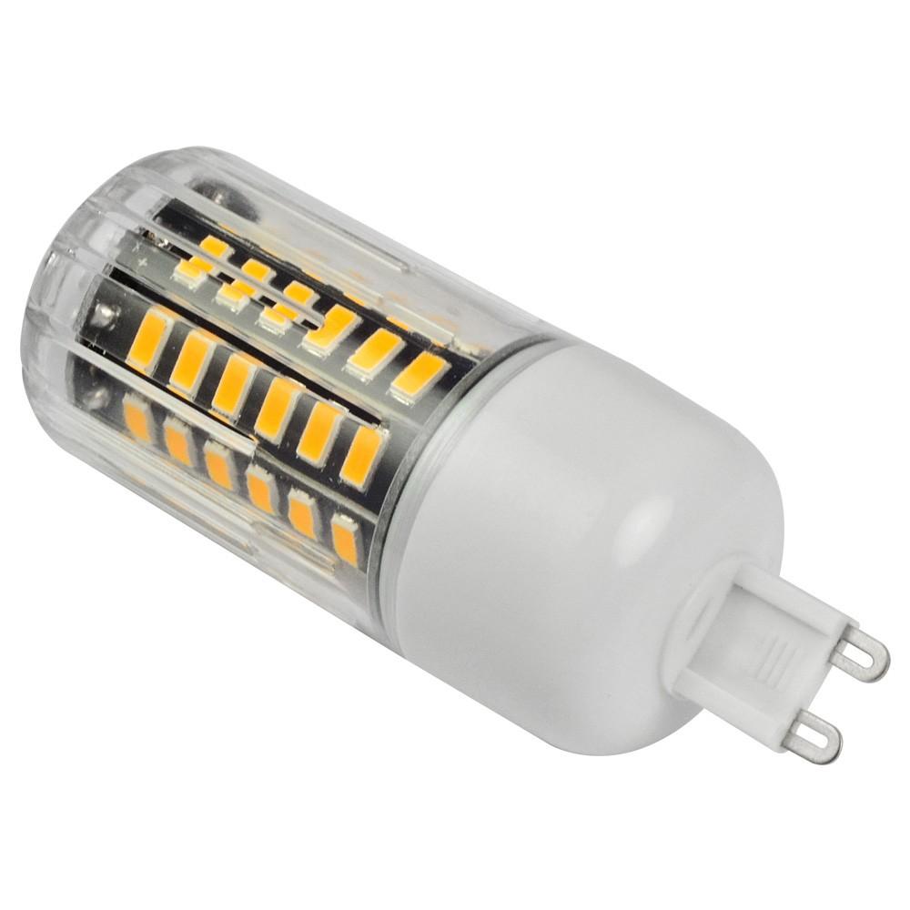 mengsled mengs anti strobe g9 7w led corn light 56x. Black Bedroom Furniture Sets. Home Design Ideas