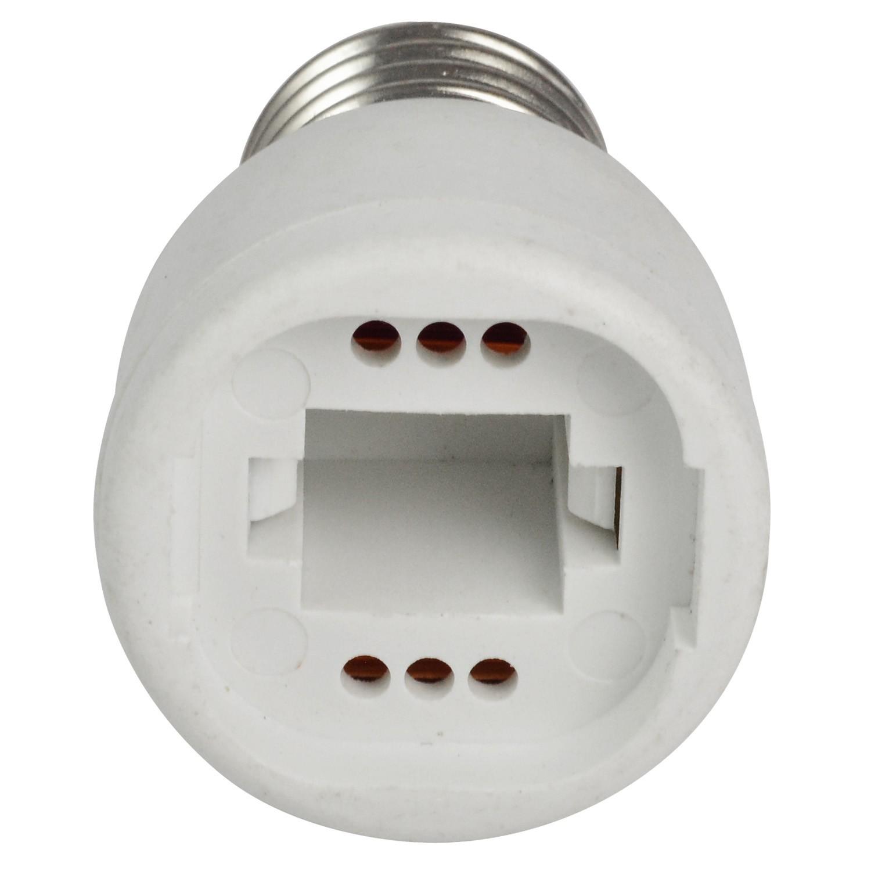 source electrical light lowes pl socket watt sockets at shop project medium adapter ivory lighting adapters com