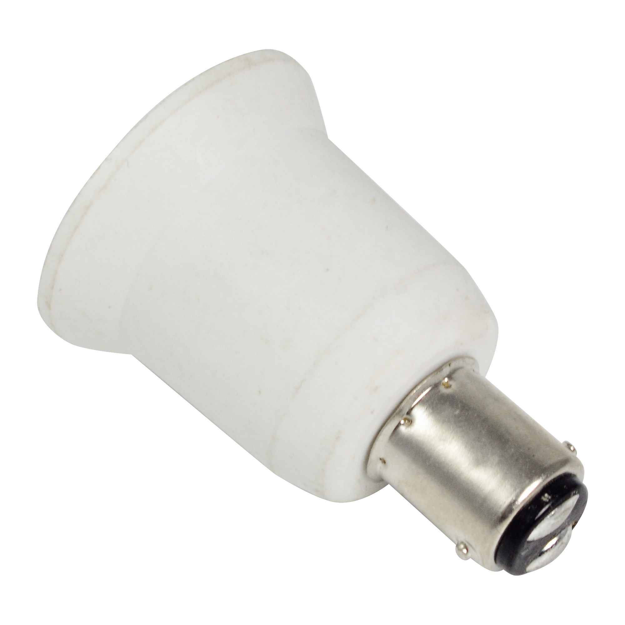 Mengsled Mengs 174 High Quality Lamp Base Adapter Ba15d To E26 Led Light Bulb Socket Converter