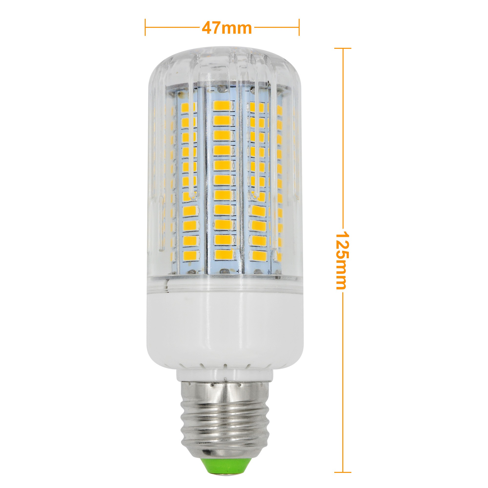 Mengsled Mengs E27 18w Led Dimmable Corn Light 130x 5736 Smd Led Bulb Lamp Ac 220 240v In