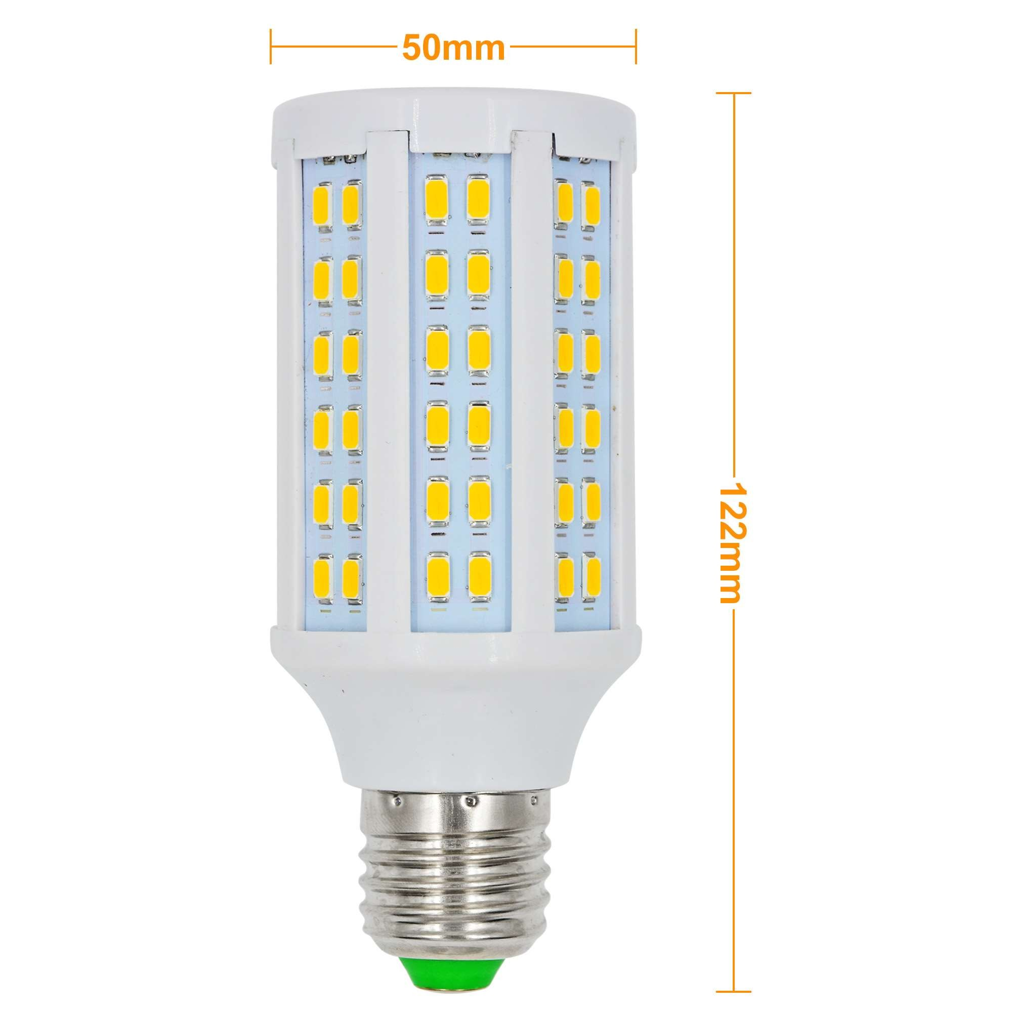 Mengsled Mengs E27 15w Led Corn Light 120x 5730 Smd Led Bulb Lamp Ac 85 265v In Warm White