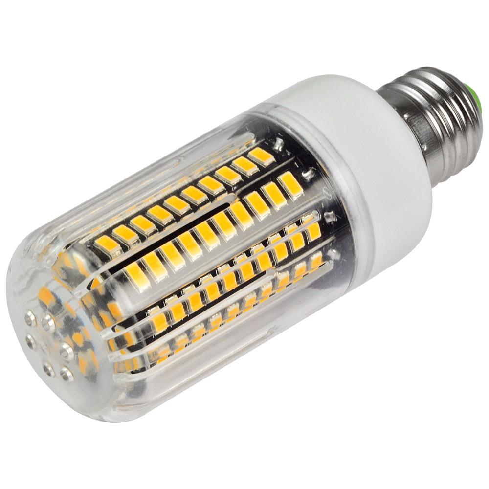 Mengsled Mengs Anti Strobe E27 15w Led Corn Light 120x 5736 Smd Led Bulb Lamp In Warm White