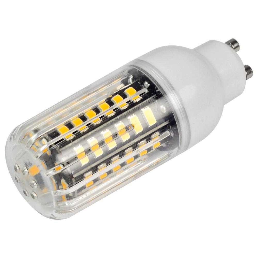 mengsled mengs anti strobe gu10 7w led corn light 56x 5736 smd led bulb lamp in warm white. Black Bedroom Furniture Sets. Home Design Ideas