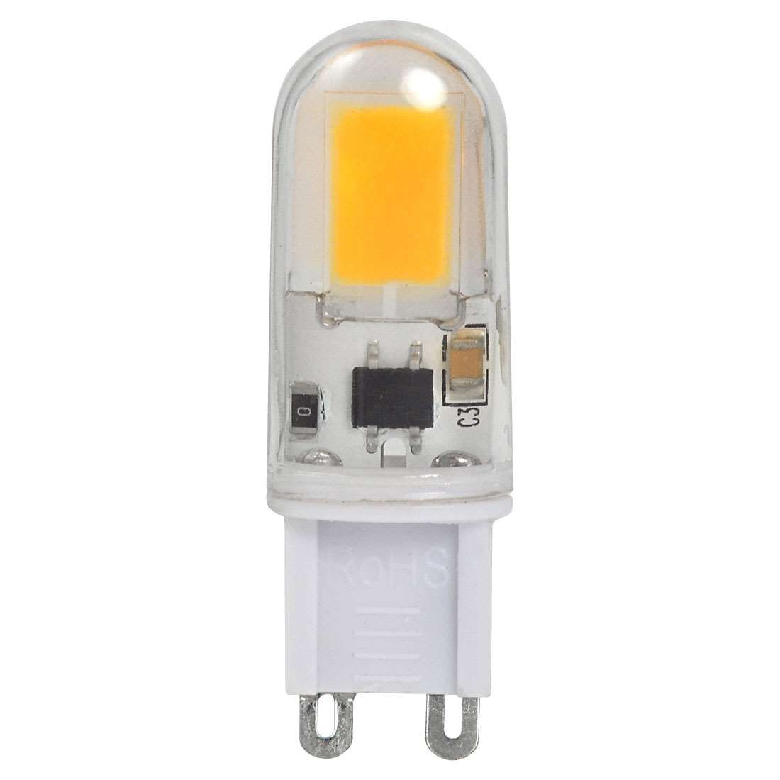 mengsled mengs g9 4w led light cob with acrylic material led bulb lamp ac 220 240v in warm. Black Bedroom Furniture Sets. Home Design Ideas