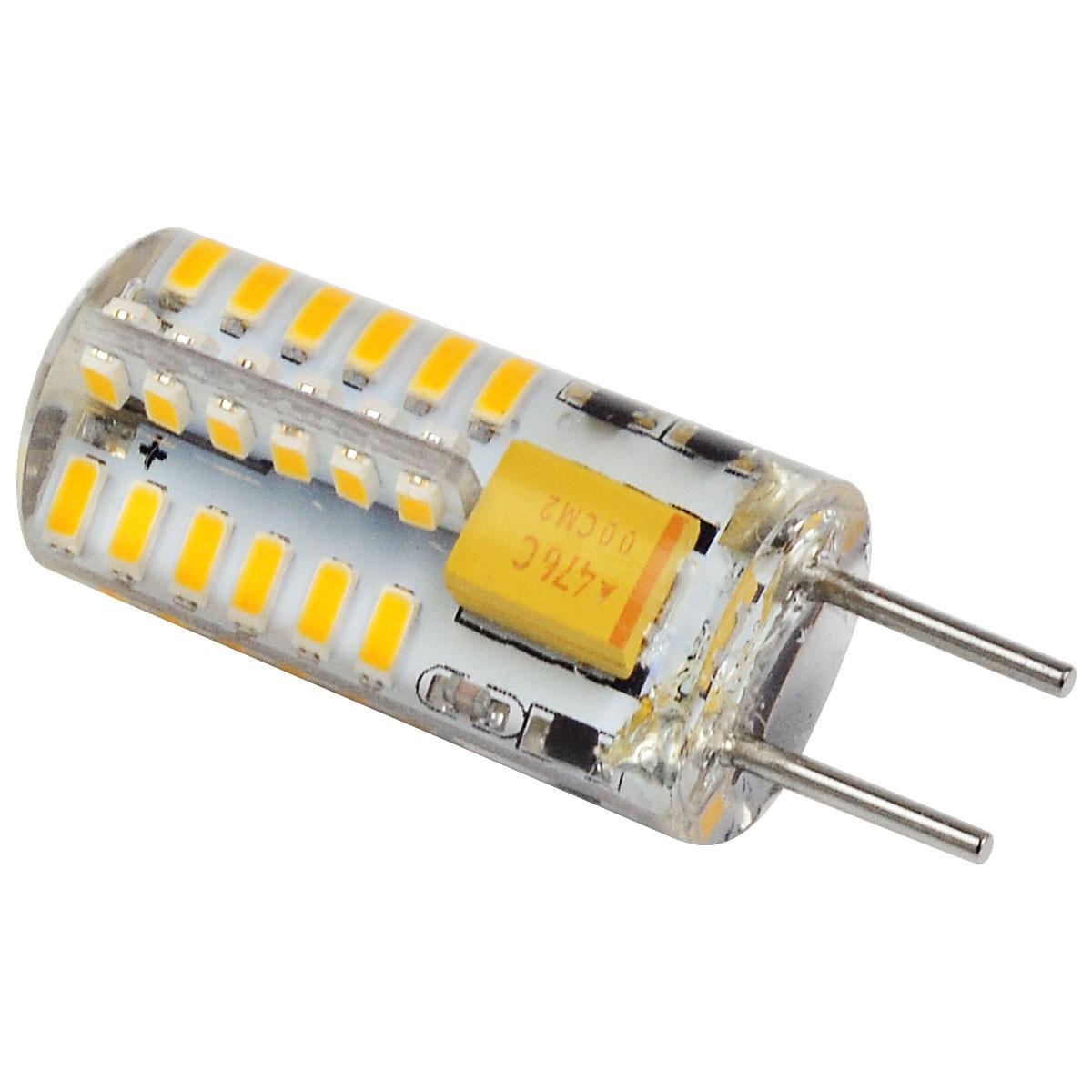 Mengsled Mengs 2w Led Light 48x 3014 Smd Led Lamp Bulb Ac Dc 12v In Warm White Cool